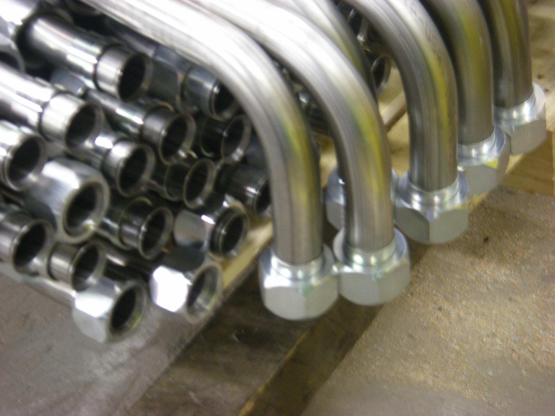 Bending stainless steel tubing mandrel tube