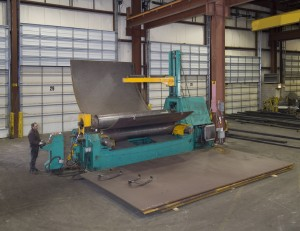 large plate roller