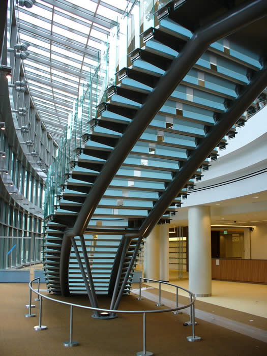 Circular Staircases Up Right Or Up Left The Chicago Curve