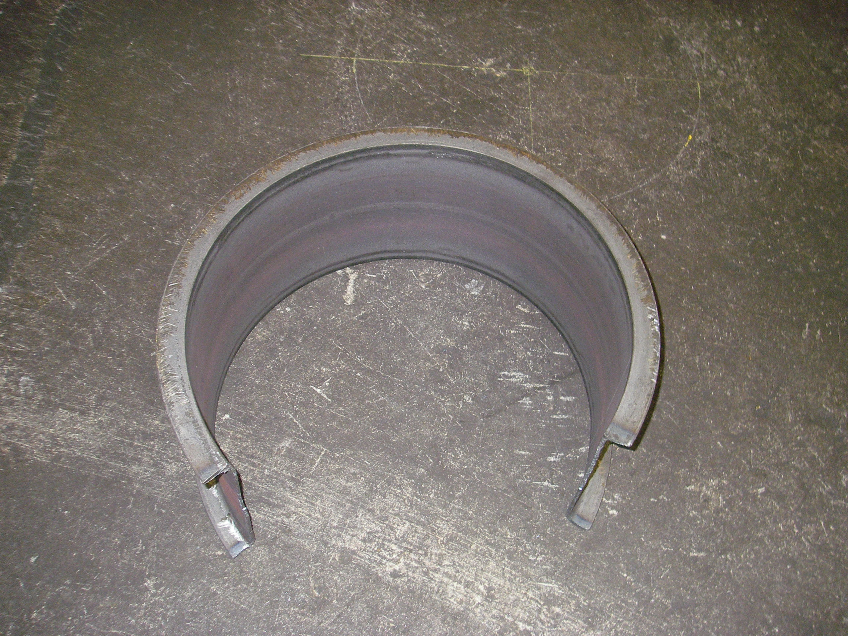 Bending Channels Flanges Out Mandrel Bending Cmrp