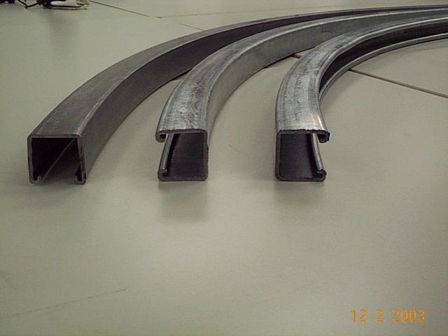 Curving Metal Profiles Strut Channel Bending The