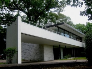 Porte-Cochere at the Rice House Designed by Richard Neutra