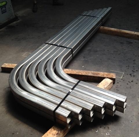 Stainless Steel Tube Bending Rotary Square Tube Bending