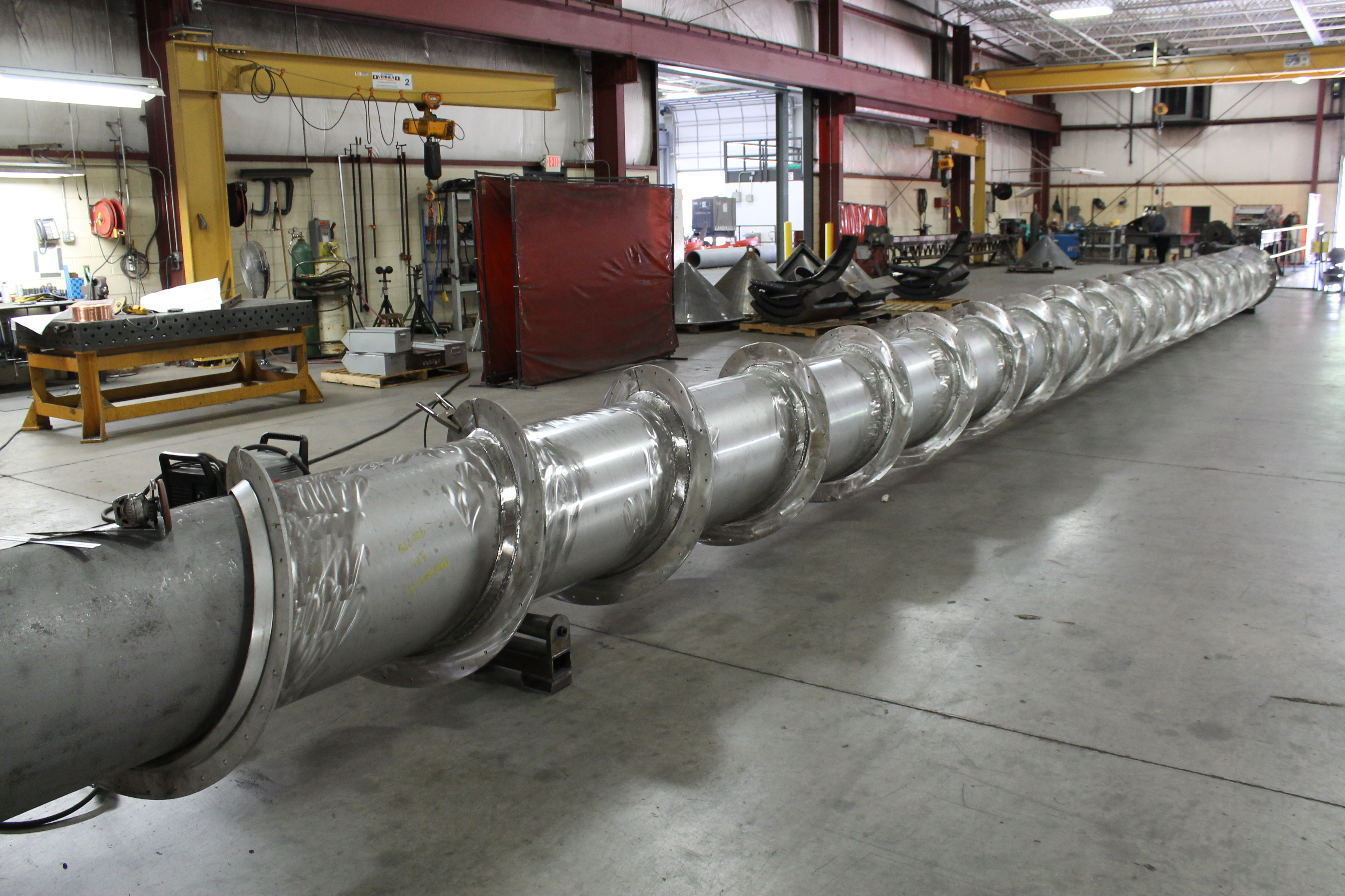 Straightening Bent Sheet Metal Curved Steel Shapes Chicago