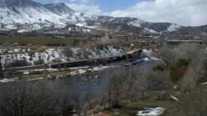 Animus Trail Bridge - Durgano, Colorado