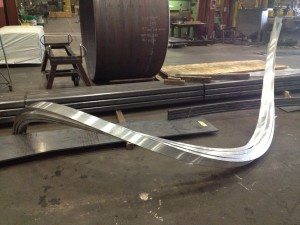 Curved Aluminum Channel Steel Pipe Amp Plate Curved To