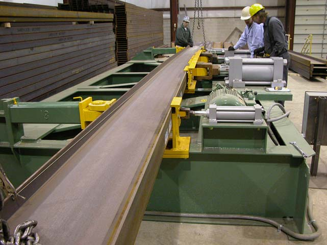 Curving and Cambering Steel Sections | The Chicago Curve
