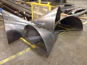 steel cone segments