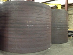 tapered cylinder segments