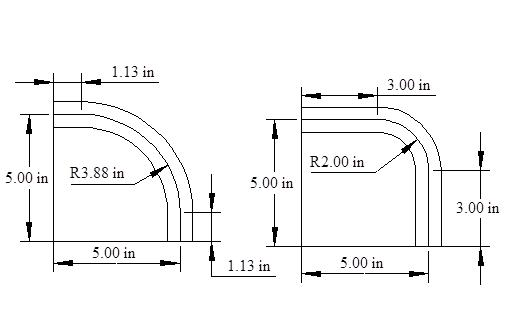 how to draw where a bend occurs in cad