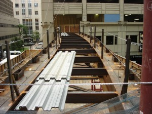 W44 x 290# Beams with Sweep