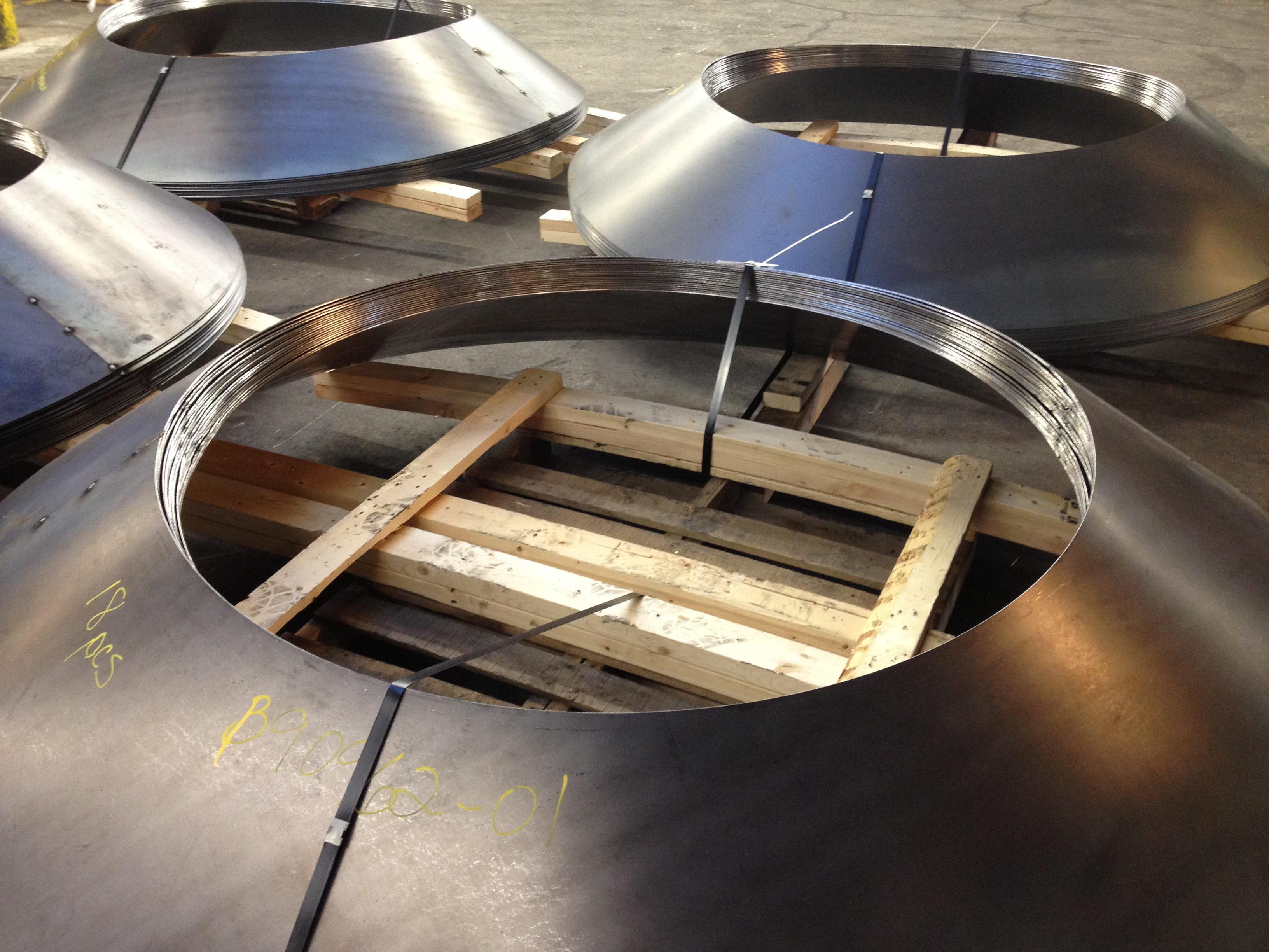 Forming Custom Metal Cones The Chicago Curve