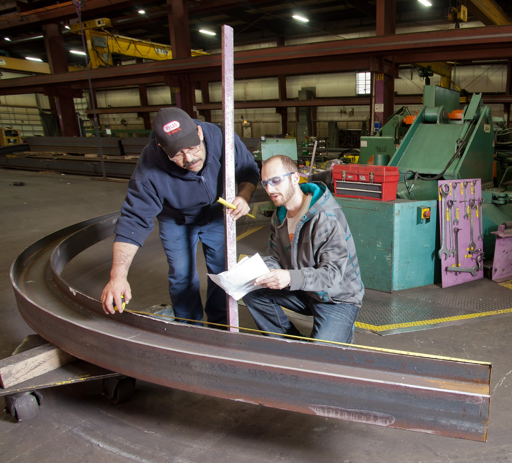 Curved Steel Parts Angle Rings Steel Tubing The