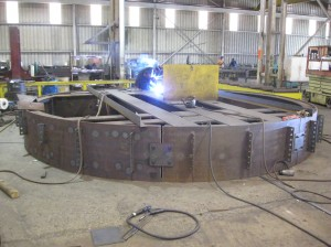 Fabricating the Compression Ring Made with Rolled Plate