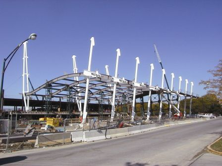 Curved Structural Steel Beams The Chicago Curve