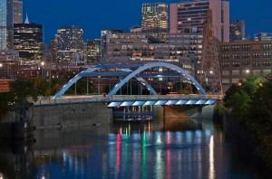 North Halsted Bridge in Chicago