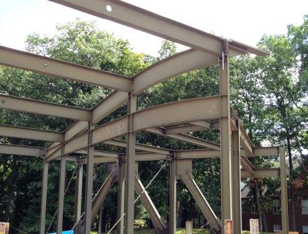 Structural Steel With Compound Curves The Chicago Curve