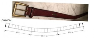 conical belt