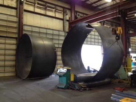Rolled Steel Plate Steel Tanks The Chicago Curve