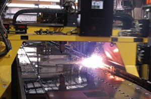Plasma Cutting for Cambered Webs