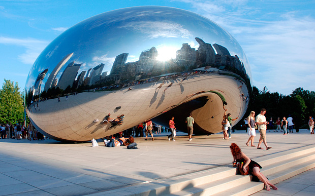 Curved Stainless Steel For Sculptures The Chicago Curve