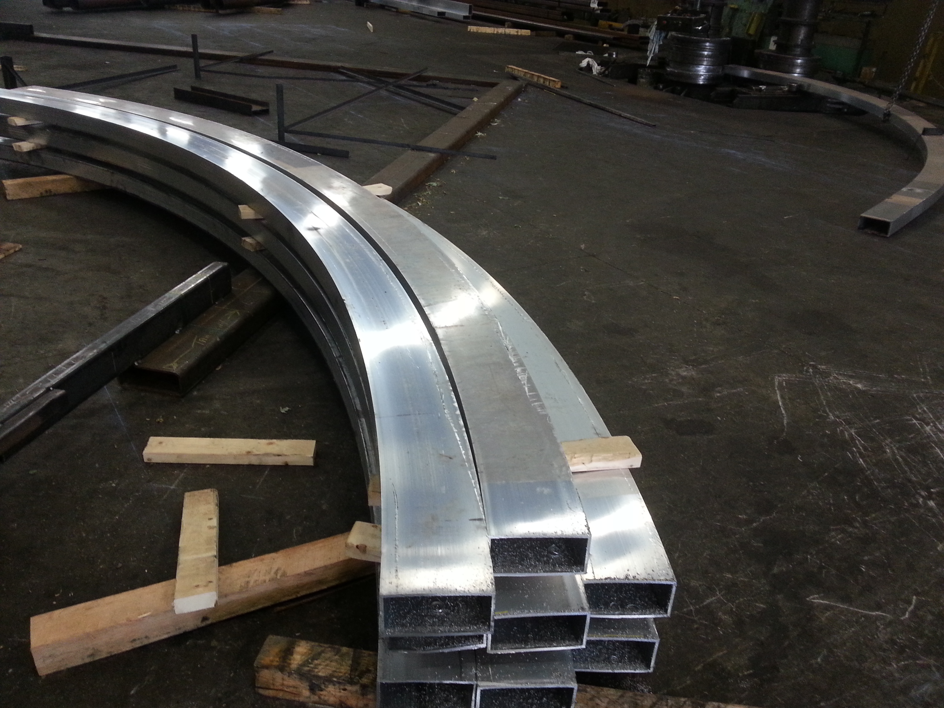 Working With Curved Aluminum The Chicago Curve