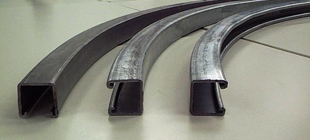 Bent Unistrut P1000 Channel The Chicago Curve