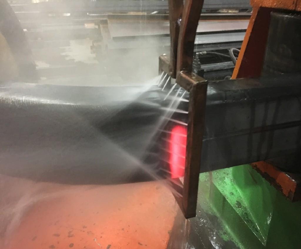 Heat Induction Bending of Rectangular Steel Tube