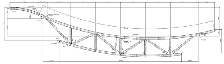 Steel Roof Trusses | The Chicago Curve