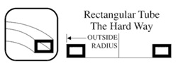 Hard Way Bending Rectangular Tube