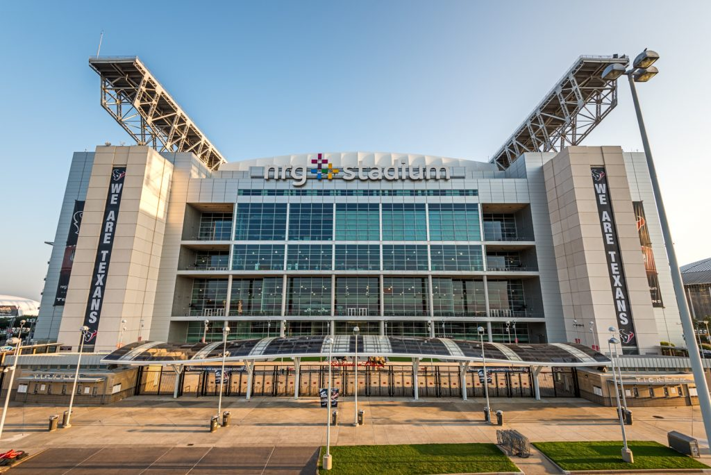 NRG Stadium South Entrance Solar Canopy