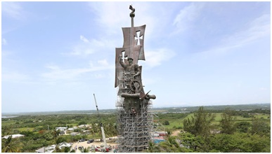 Birth of a New World Statue