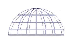 Rectangular Tubing for Dome Trellis
