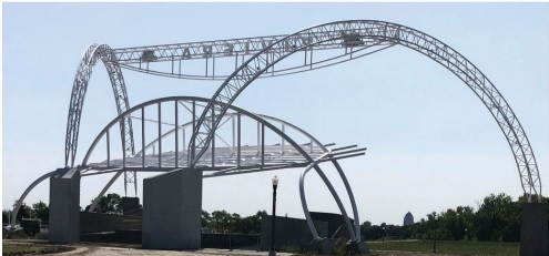 60ft Steel Arches